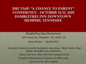 A Change to Parent Conference | October 12 - 13, 2015
