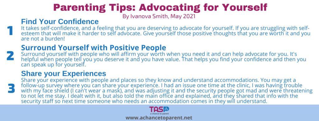 Parenting Tips MAY - white horizontal graphic